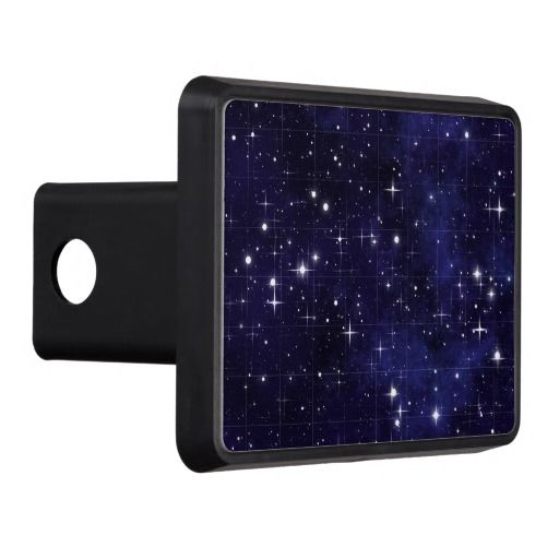 Starry Night Sky Grid Hitch Cover