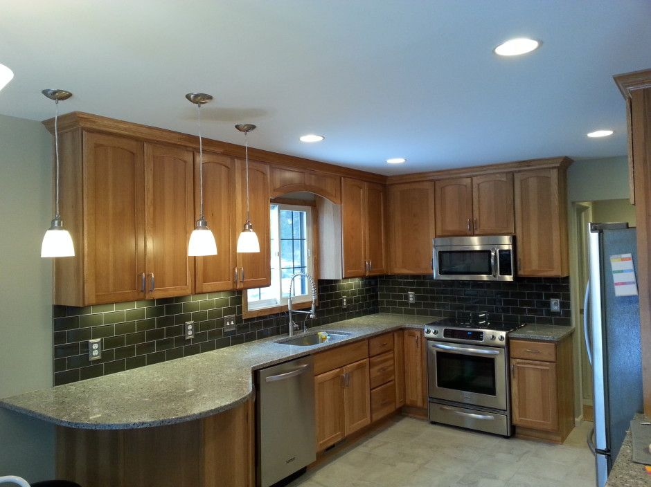 Remodeled hickory kitchen   Landmark Contractors   Hickory ...