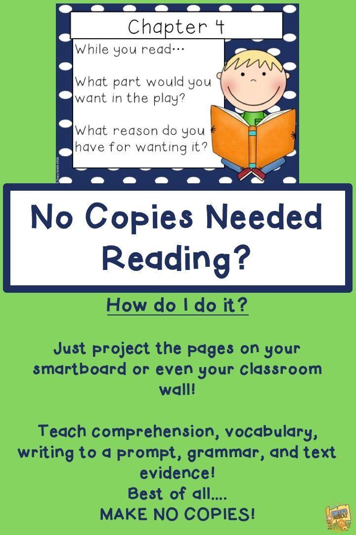 Horrible Harry in Room 2B - Reading Comprehension - No Copies - No Prep