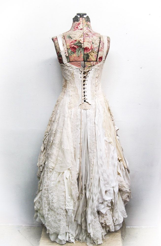 Back Of Kassidy S Wedding Gown Https Www Steampunkartifacts Com