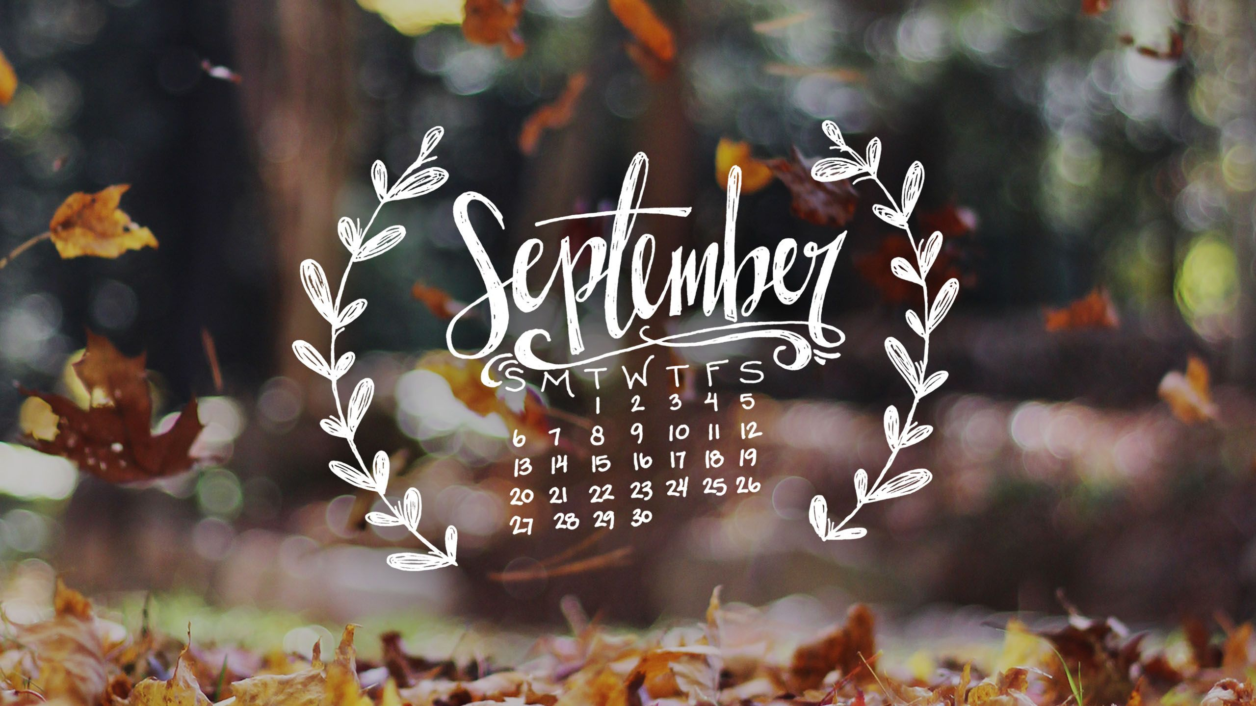 Beau Free Just For You U2013 Welcome Autumn With A New Handwritten Phone And Desktop  Wallpaper!