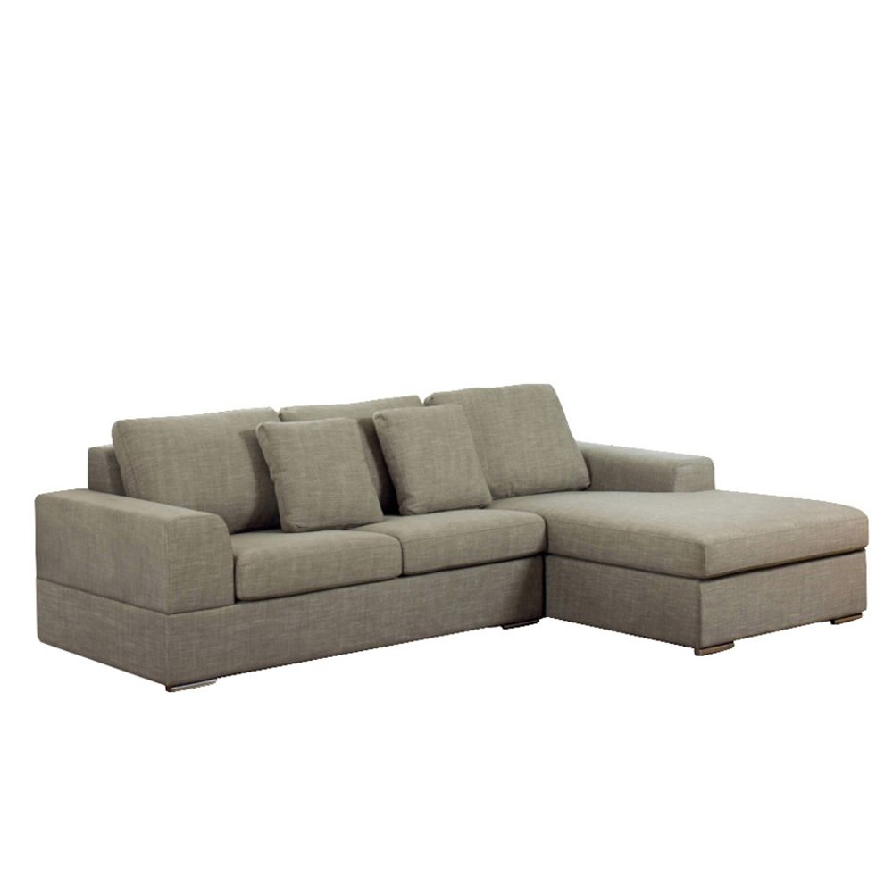 Verona Right Hand Corner Sofa Bed Mocha Dwell 1399