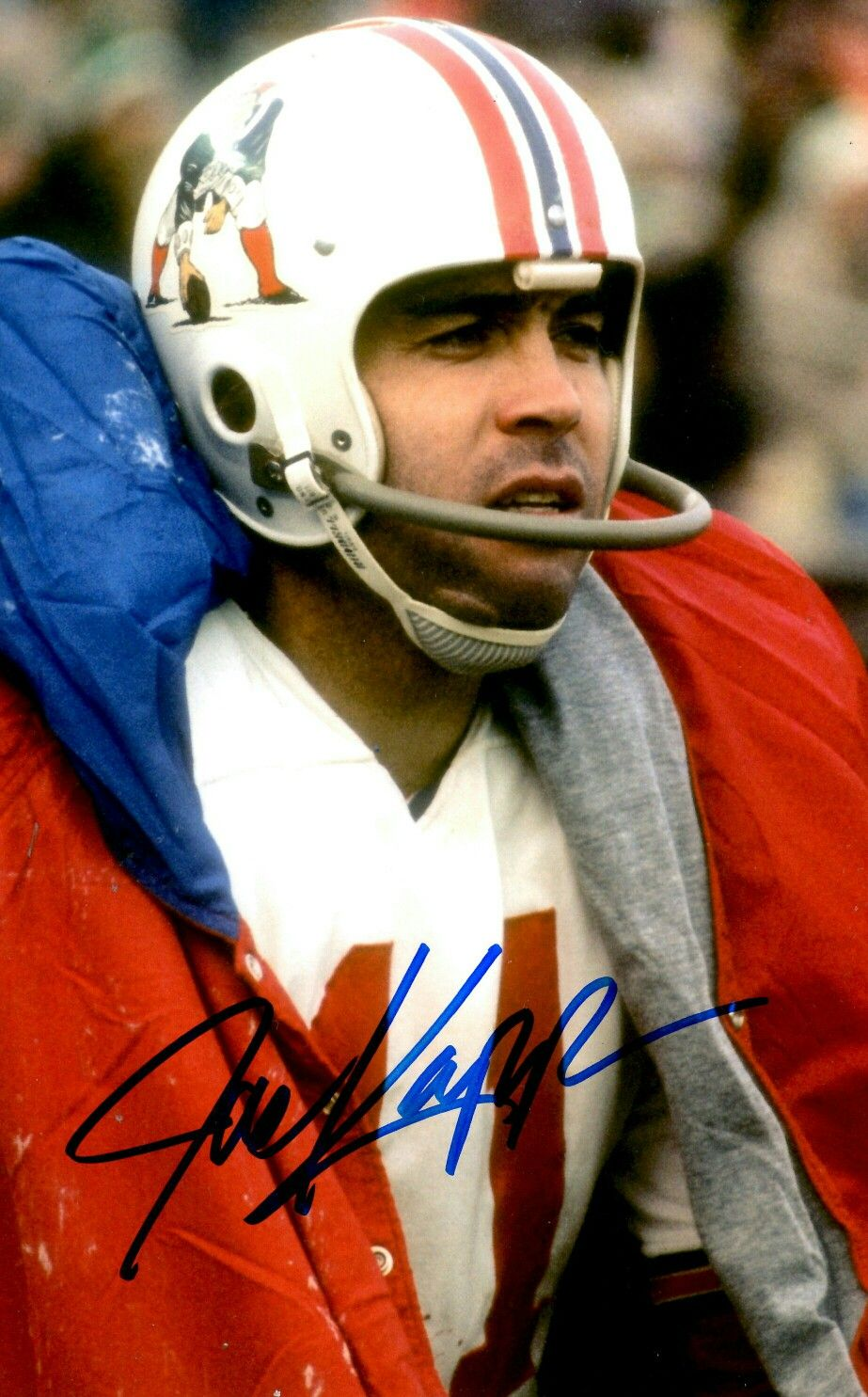 Joe Kapp American football league, New england patriots