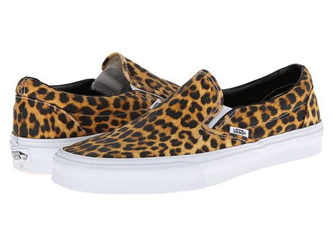 217313f5f7b2e7 Because more leopard. Vans Classic Slip-On™ (Digi Leopard) Black True White  - Zappos.com Free Shipping BOTH Ways