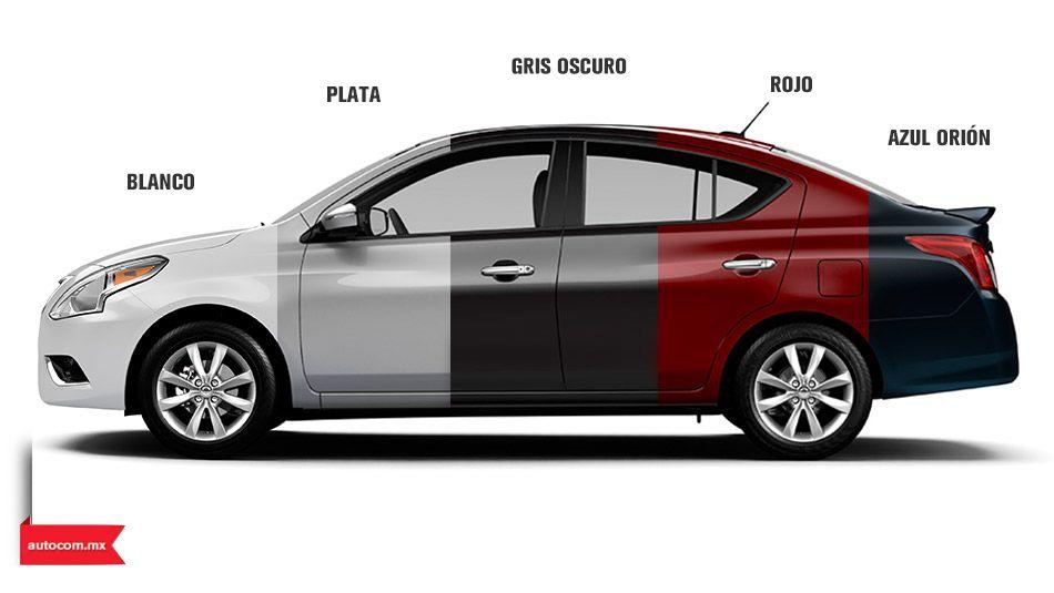 ¿De qué color es tu próximo Nissan Versa? Nissan