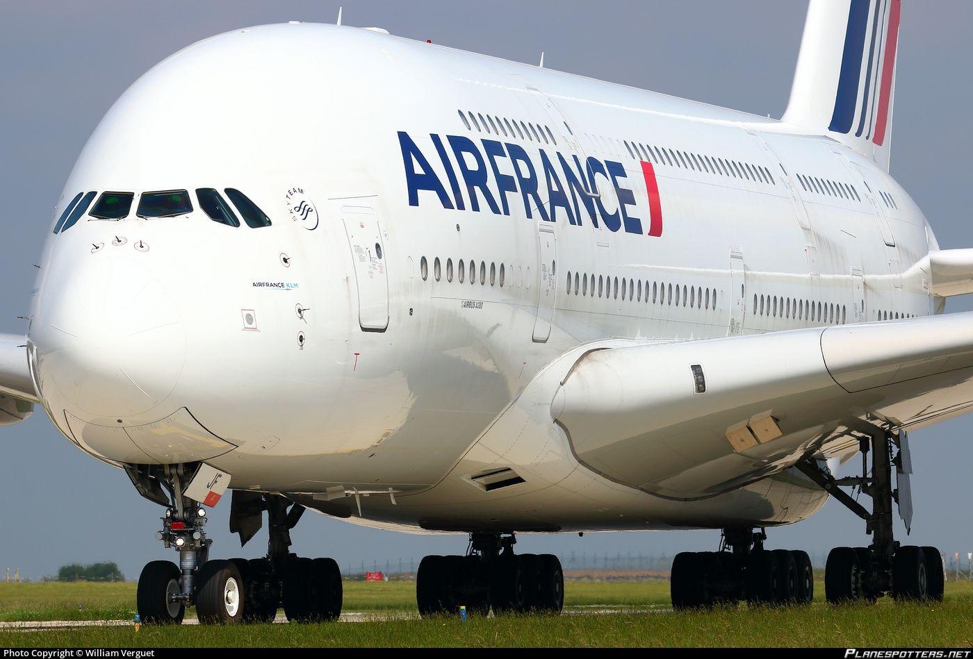FHPJF Air France Airbus A380861