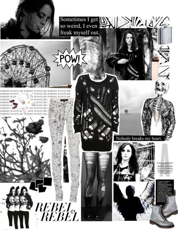 """""""Dark Angel"""" by poshtotties ❤ liked on Polyvore"""