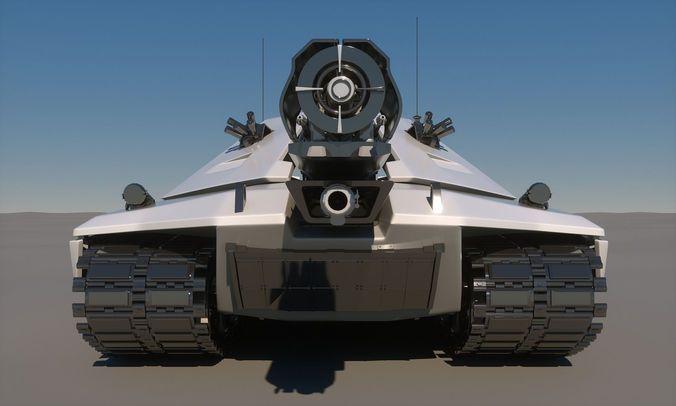 graphic regarding Printable Tanks identified as sci-fi long term tank idea printable 3d type max obj fbx