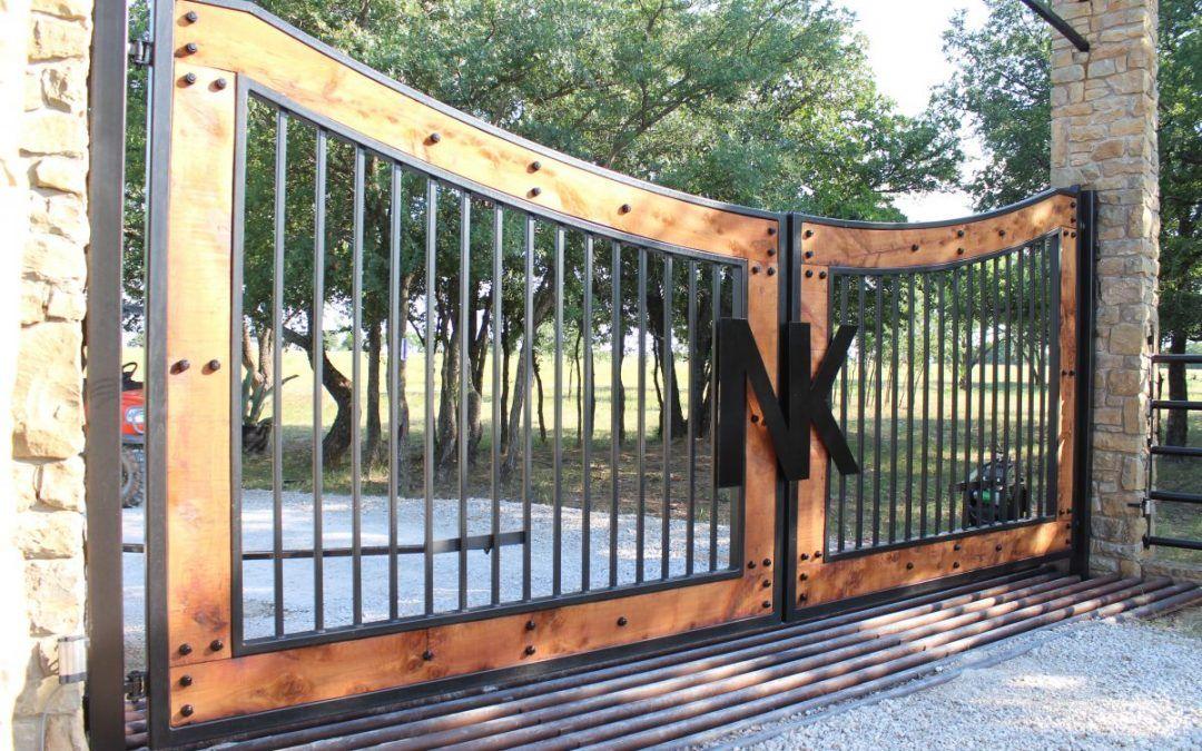 Metal or Wood Custom Driveway Gate—Which Is Best ...