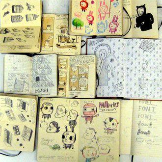 Sketchbook Series: Mike Lowery
