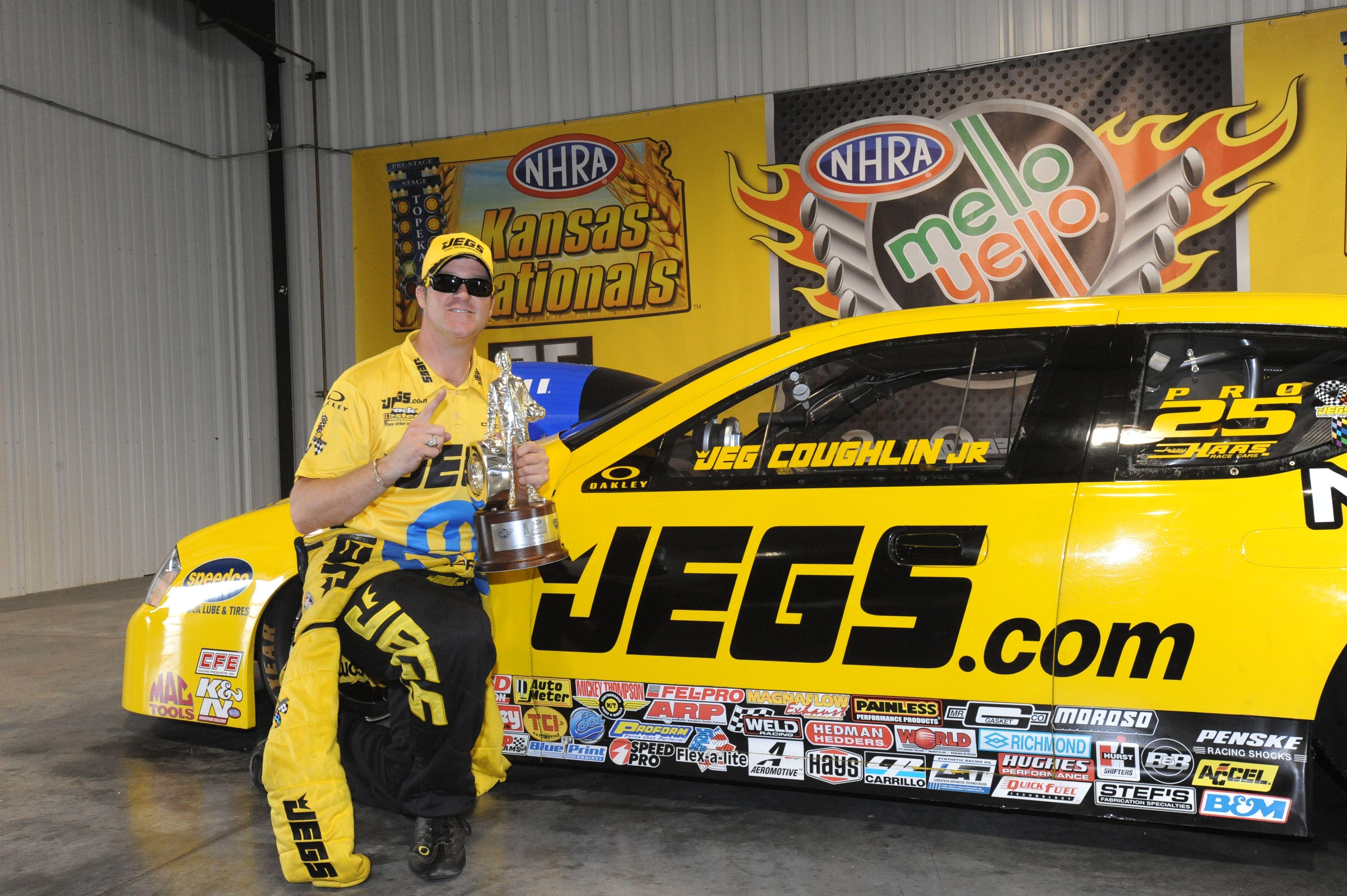 Jeg Coughlin Jr NHRA Pro Stock JEGS/Mopar Dodge Avenger