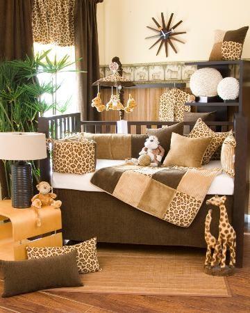 Baby Crib Bedding Sets, Cheetah Print Baby Bedding Set