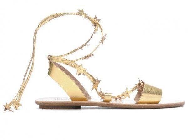 Loeffler Randall, sandali flat con lacci   Scarpe, Alexander