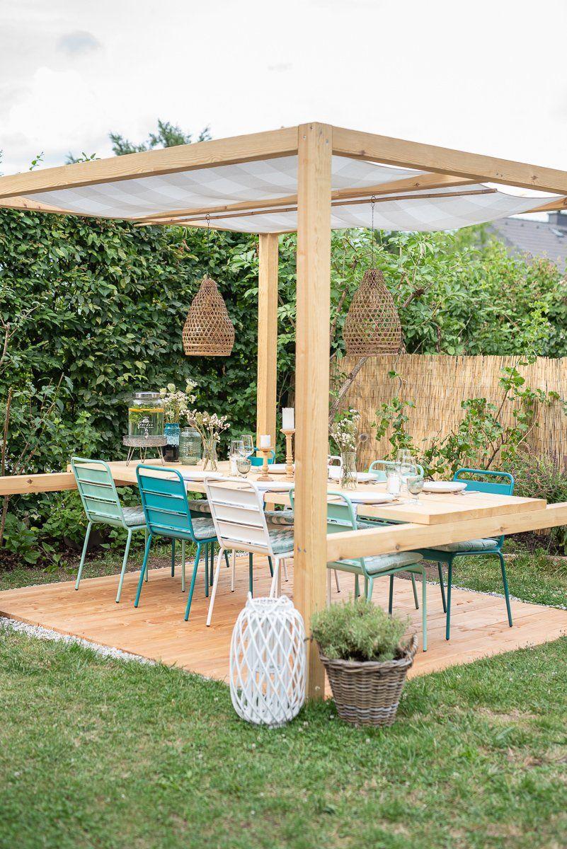 Mein Neuer Sitzplatz Im Garten Leelah Loves Sitzplatz Im Garten Terassenideen Pavillon Selber Bauen