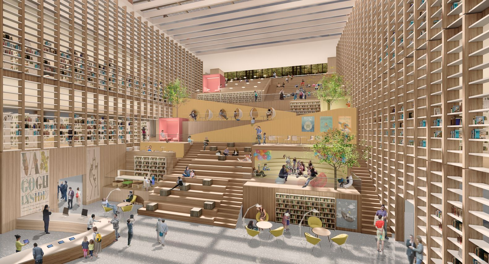 Gallery Of Baf Win National Library Tainan Taiwan 6