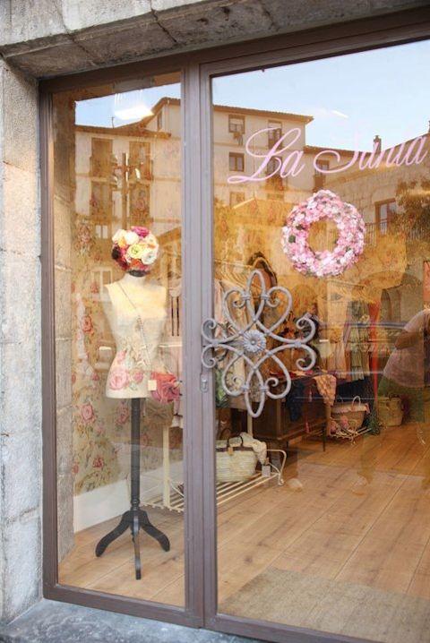 Tienda la santa laredo maniqui vintage para escaparate - Estilo vintage decoracion ...