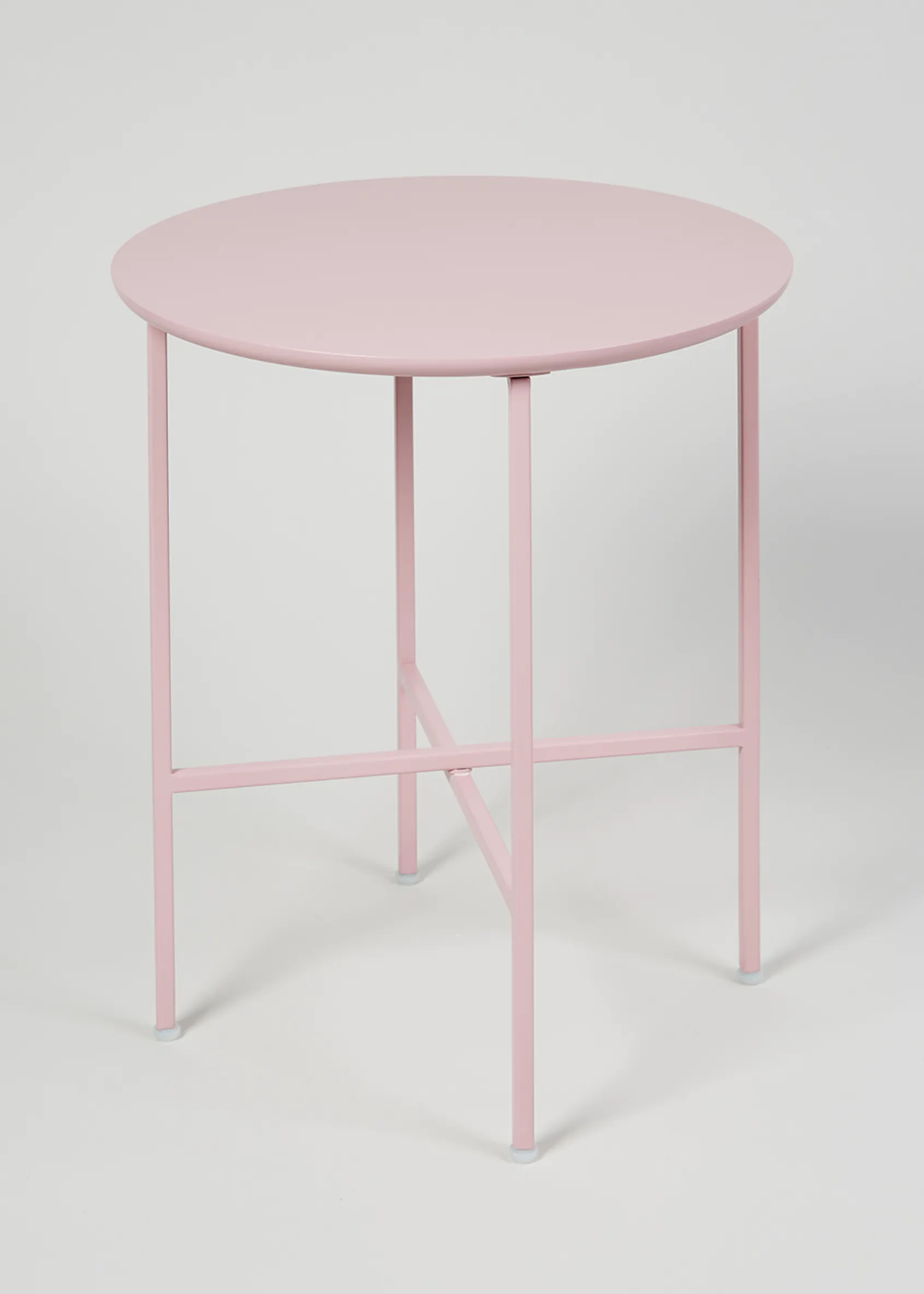 Pink Bedside Table: Cleo Side Table (H40cm X W36cm) – Pink In 2020