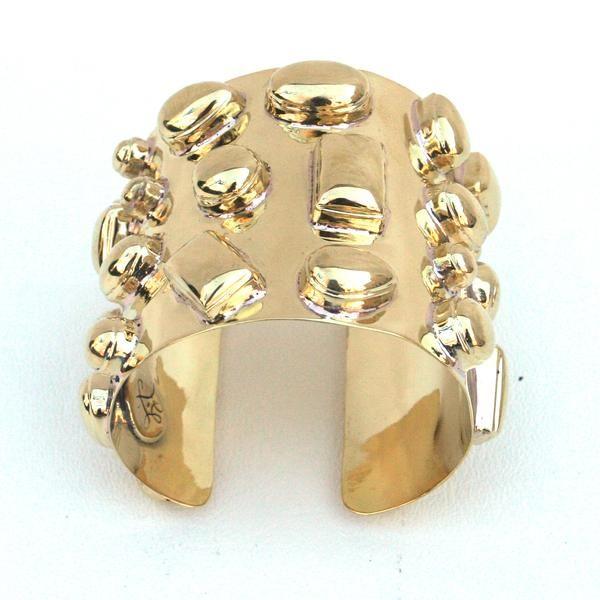 Bendall Cuff - All Gold | Addison Weeks