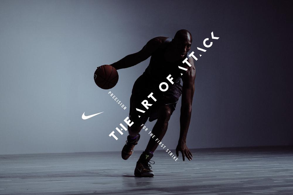 Kobe X — The Art of Attack on Behance Nike poster