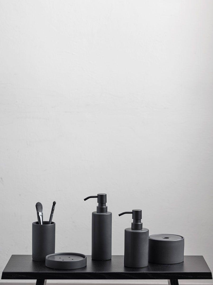 Schwarze Moderne Accessoires Serie In 2020 Badezimmer Accessoires Set Badezimmer Accessoires Seifenspender Set