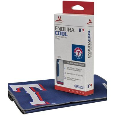 Texas Rangers Enduracool Instant Cooling Towel Royal Blue With