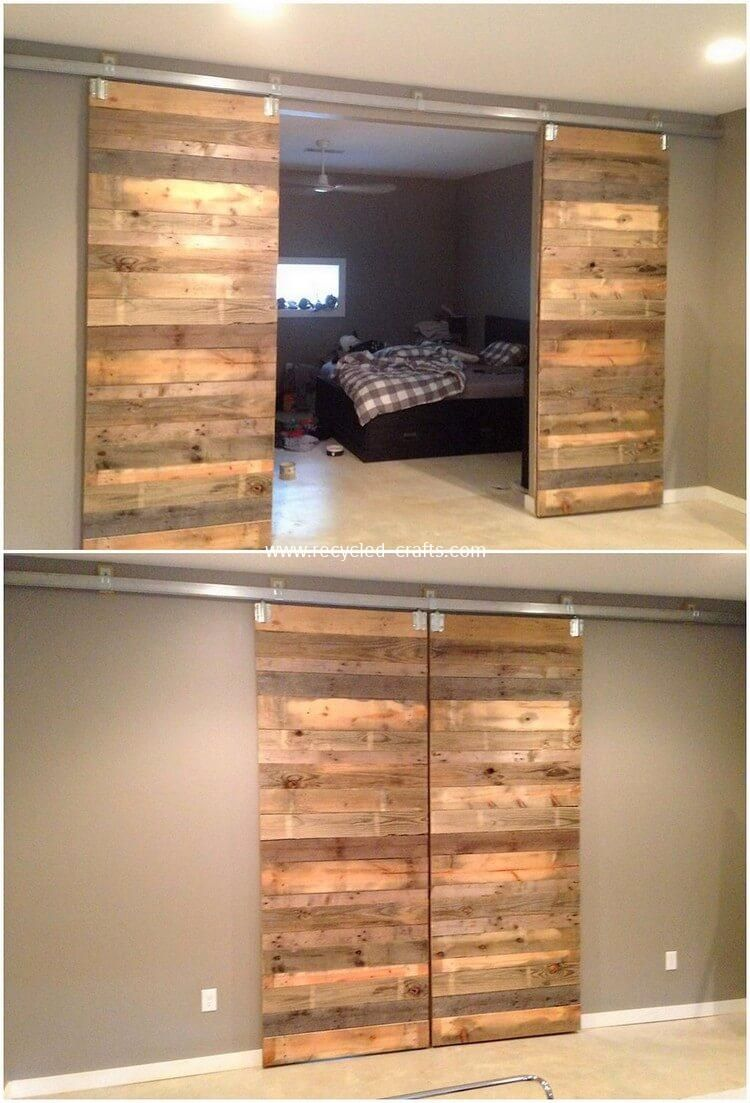 Inexpensive Diy Wood Pallet Ideas And Projects Pallet Door Diy
