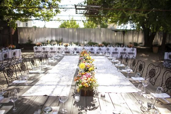 A Bright, Picturesque Wedding in Healdsburg | 7x7 - Caitlin + Trevor. Designed by Lindsey Relyea of l'Relyea Events #NapaValley #Healdsburg #Wedding #Bardiva