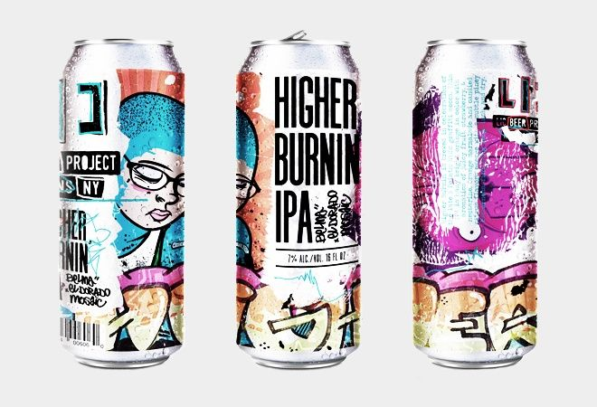 The Most Beautiful Beer Cans Of 2017 Drinking Water Beer