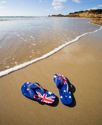 632b59f5189632 Beach life. We don t call them flip flops we call them thongs. Australia.
