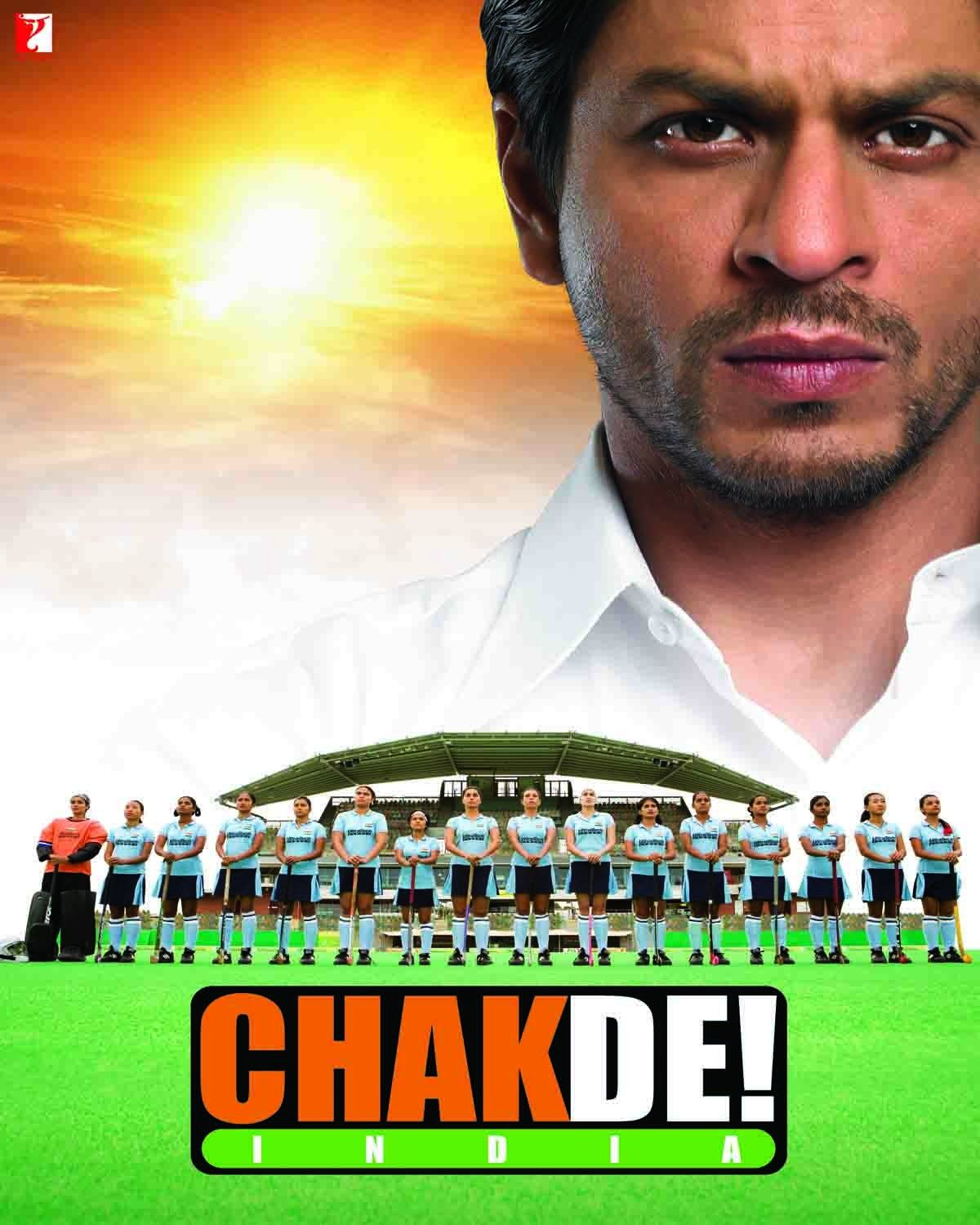 Orginal Poster from the movie, Chak De India (2007) Chak