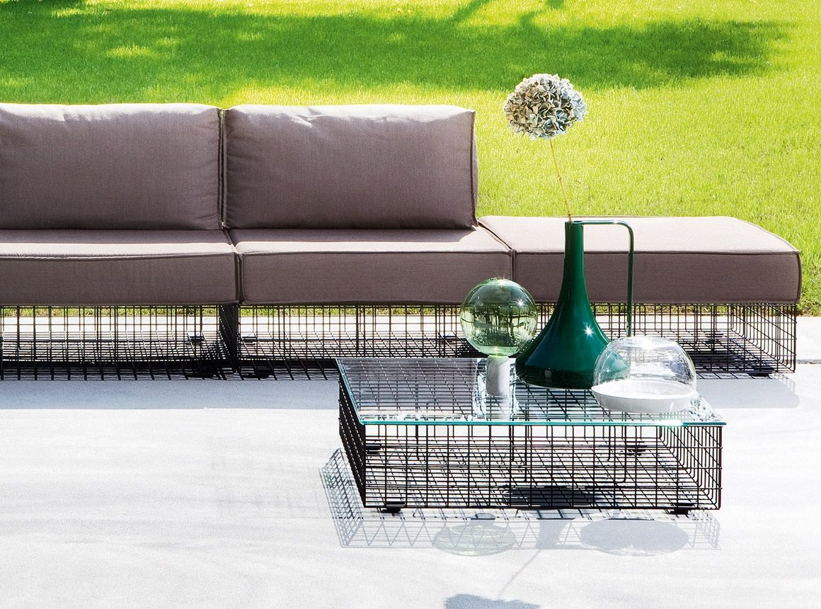 Varaschin Grid Modular Low Table Outdoor Luxury Homeware