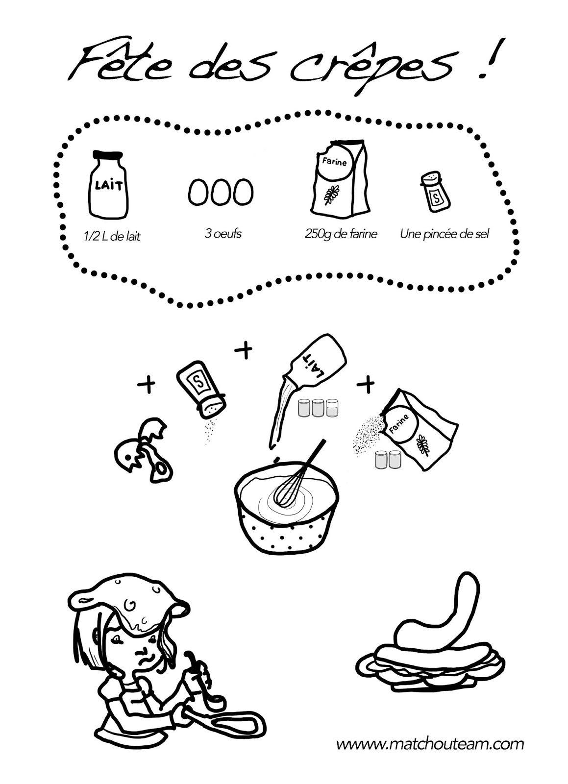 Chandeleur Les Fiches Pour Maternelles A Imprimer Chandeleur