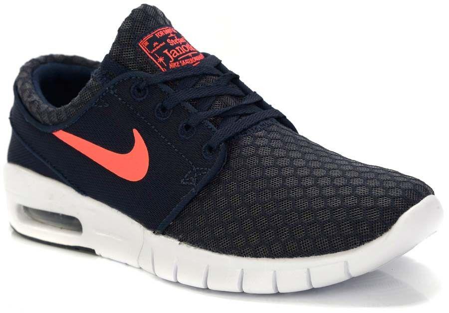 Ténis Nike Sb STEFAN JANOSKI MAX | OBSIDIAN/HOT LAVA-WHITE Obsidian/Hot Lava-White