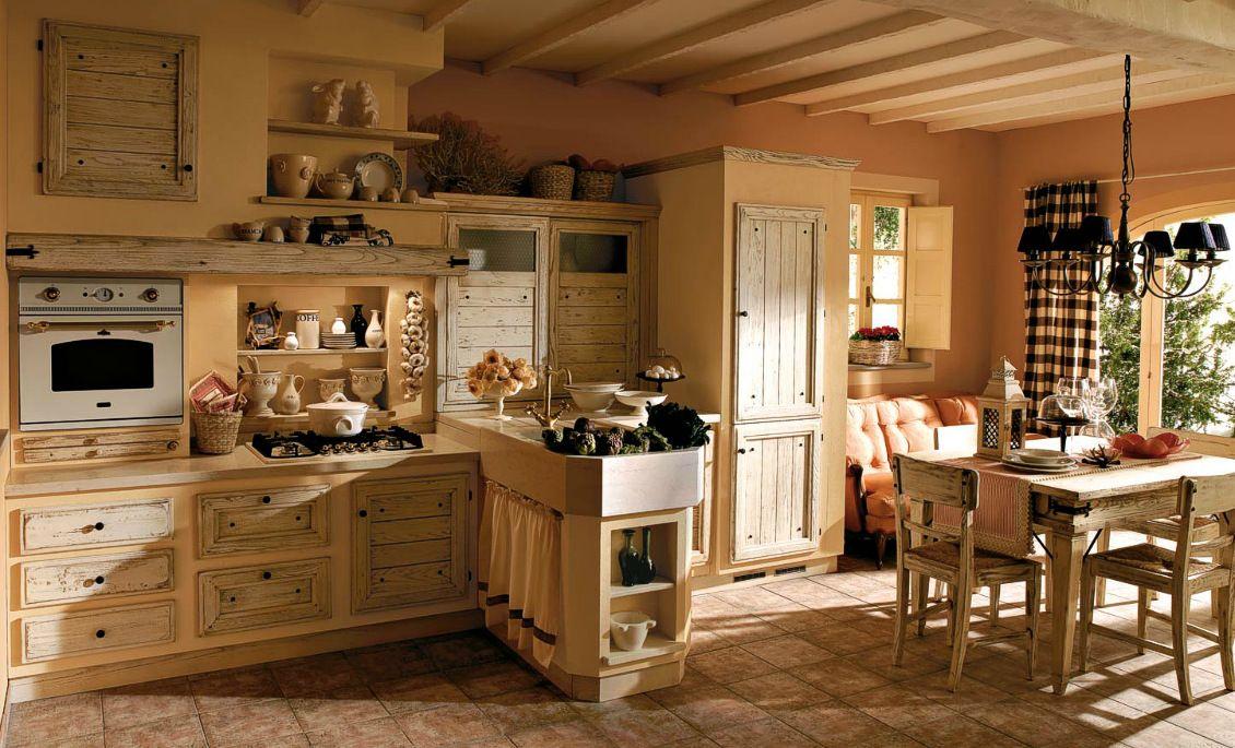 k che gemauert wohnen drinnen und drau en rustic kitchen kitchen und country kitchen. Black Bedroom Furniture Sets. Home Design Ideas