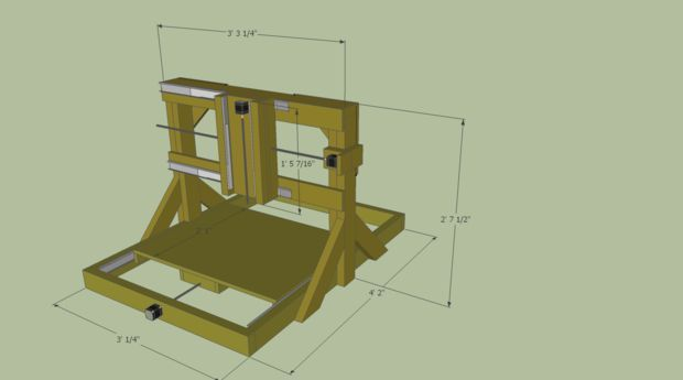 Free Diy Cnc Router Plans Crafting