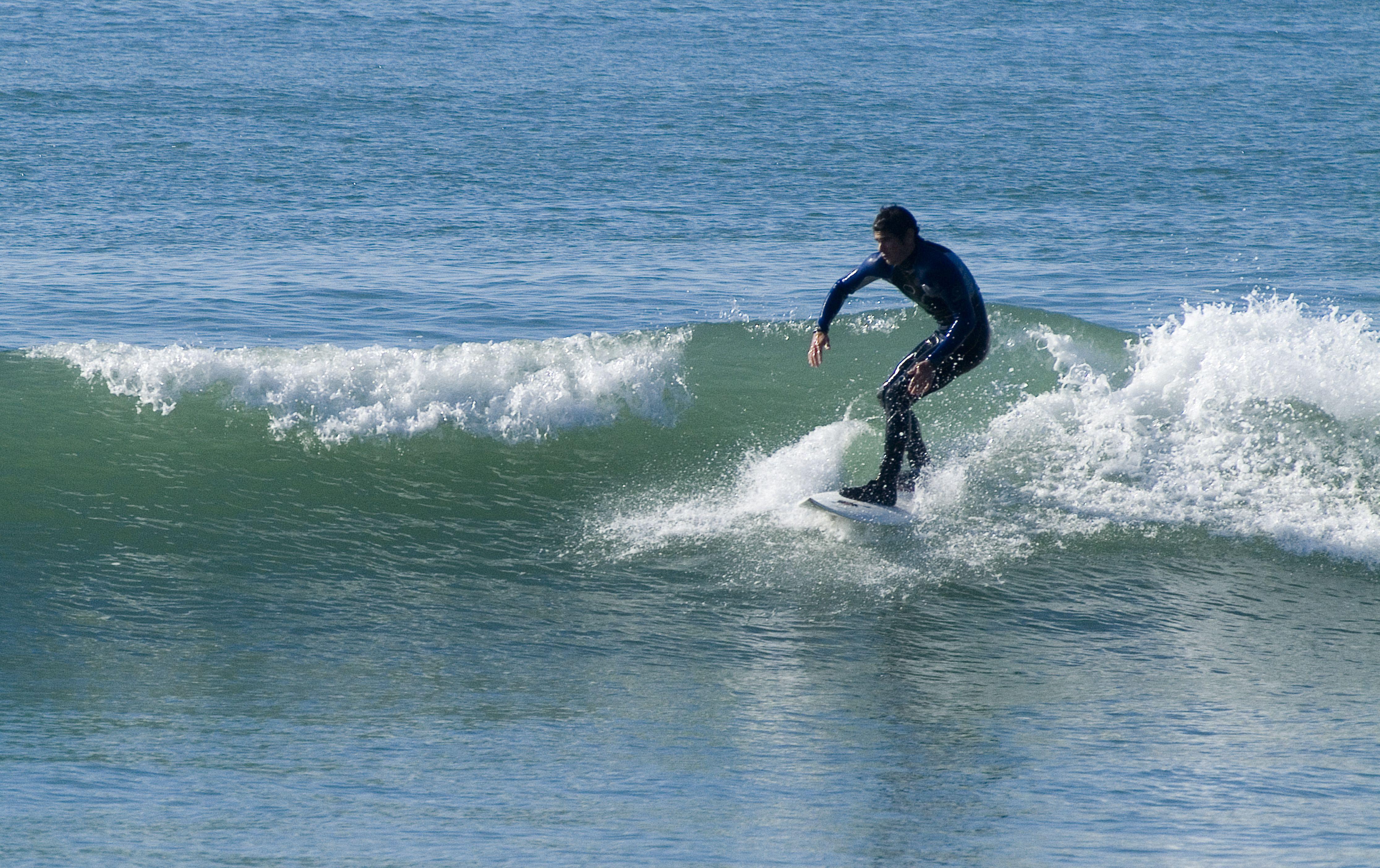 Surf en la Playa de Las Redes en El Puerto de Santa María