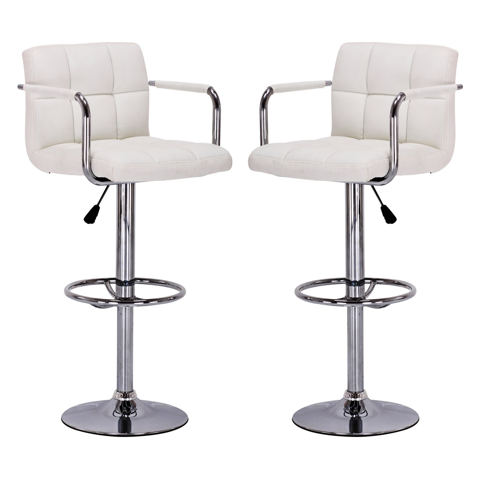 Vogue Furniture Direct Adjustable Height Swivel Bar Stools With