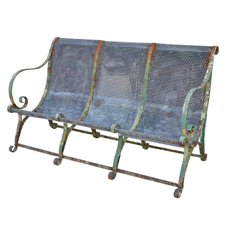 1stdibs Com 19th C French Jardin Bench Www Gardenvarietydesign Com Modern Garden Furniture Vintage Patio Garden Furniture