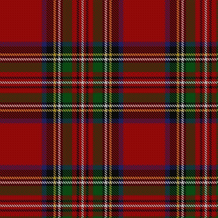 Stewart/Stuart Royal #2 Tartan.  Information from The Scottish Register of Tartans.