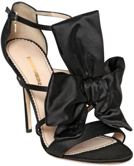 DSquared2 Satin Bow Sandals