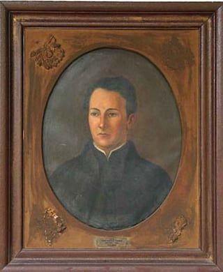 Retrato de José Ignacio Thames en exhibición en la Casa Histórica de Tucumán