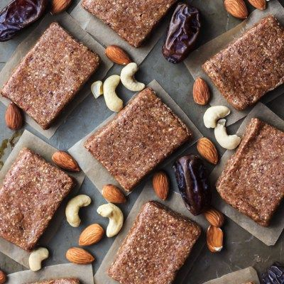 4-Ingredient Homemade Protein Bars [ Whole30 – Paleo ]