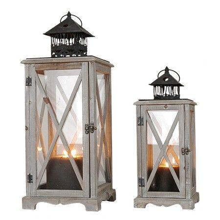 Lantaarn Set Yves Verkrijgbaar Bij Www Landelijkestijlwebwinkel Nl Candle Sconces Lamp Wall Lights