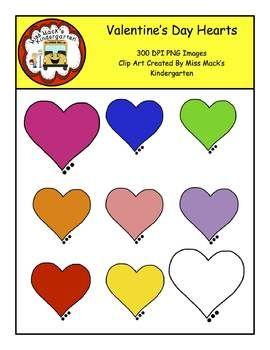 Heart Clipart Tpt Pinterest Kindergarten Teacher Pay Teachers - Clip-art-of-heart