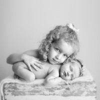 Newborn Older Sibling Pic Ideas