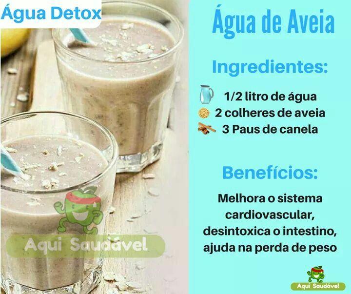 Agua De Aveia Diet Emagrecer Regime Portorico Agua De Aveia