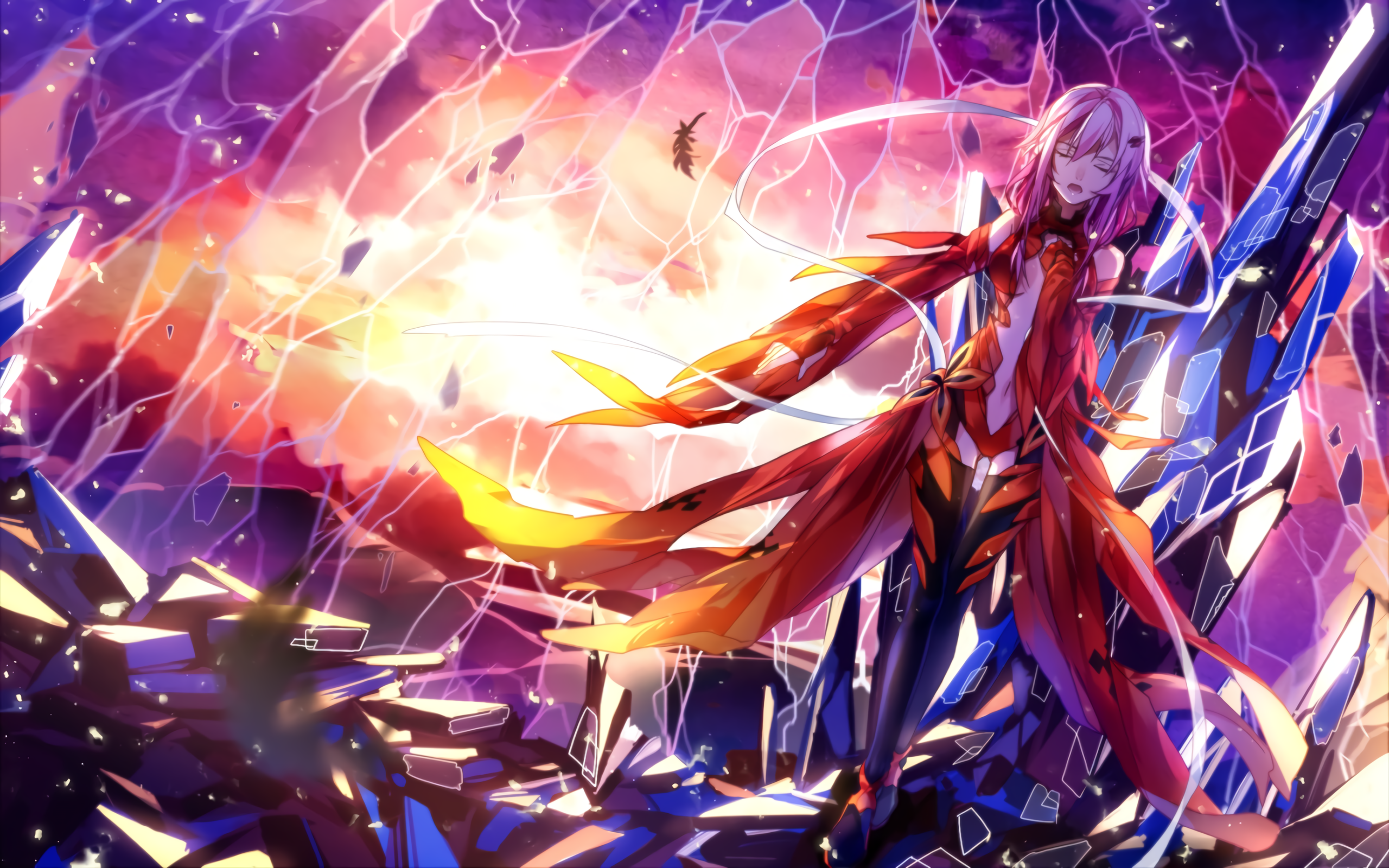 Guilty Crown 2560x1600 If You Like Anime Wallpapers Check Out