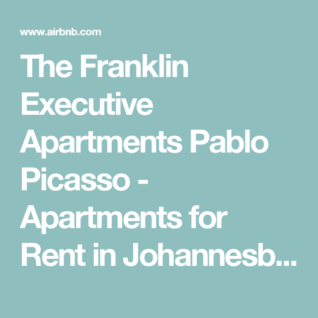 Manhattan Apartments For Rent Holiday: The Franklin Executive Apartments Pablo Picasso