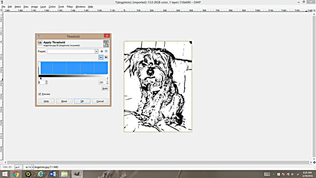 Making Coloring Pages From Photographs Using Gimp Happy Family Art In 2020 Coloring Pages Make Color Family Art