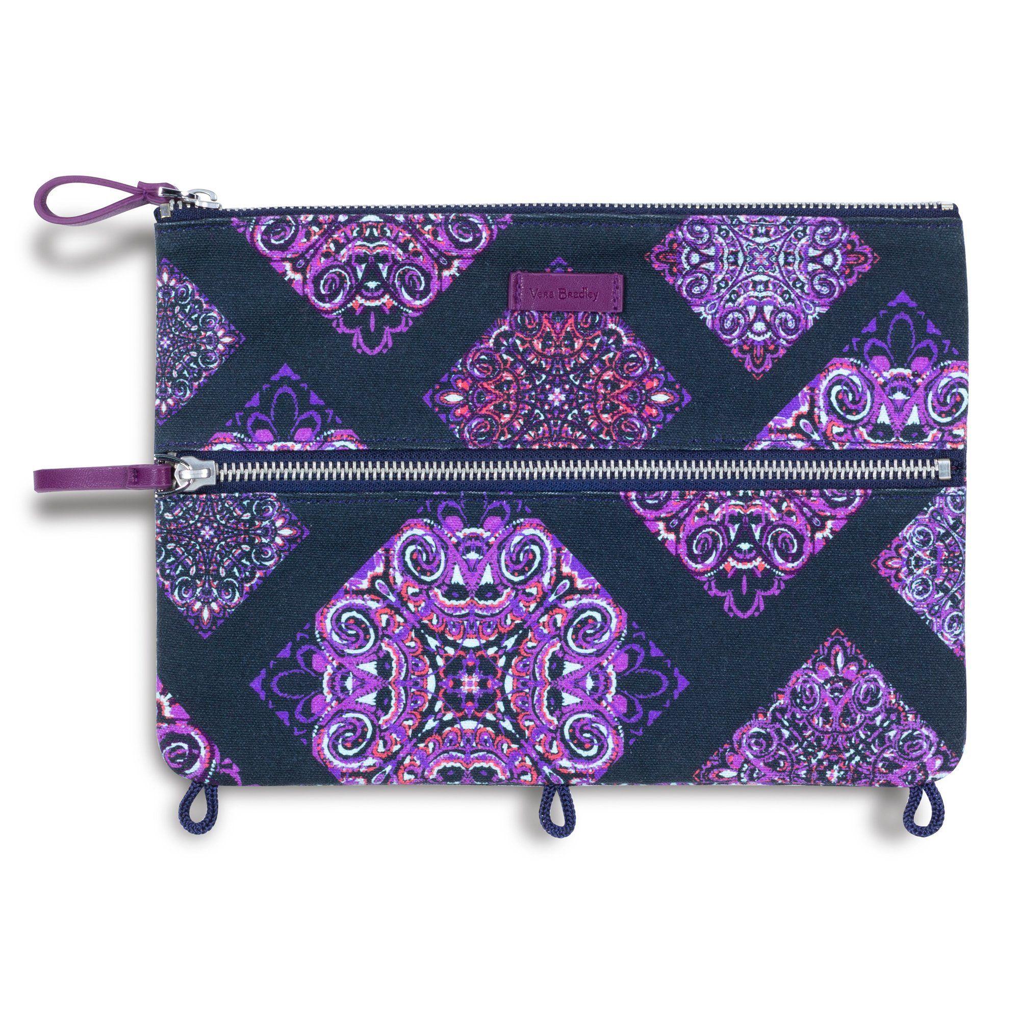 Vera Bradley Pencil Pouch, Dream Tapestry